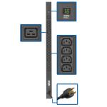 Tripp Lite PDUMV20HV-36 power distribution unit (PDU) 20 AC outlet(s) 0U Black