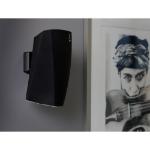 SoundXtra SDXH3WM1021 speaker mount Wall Acrylonitrile butadiene styrene (ABS),Steel Black