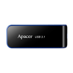 Apacer AH356 64GB USB flash drive 3.1 (3.1 Gen 1) USB Type-A connector Black