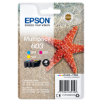 Epson C13T03U54010 (603) Ink cartridge multi pack, 130 pages, 2ml, Pack qty 3