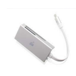 iogear GFR3C15 USB 3.0 (3.1 Gen 1) Type-C Silver card reader