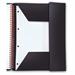 Black n' Red Meeting Book Plastic Wirebound Rear Elasticated 3-Flap Folder A4plus Ref 100104323 [Pack 5]