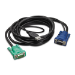APC AP5822 3.66m Black KVM cable