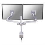 "Newstar FPMA-D930D 30"" Silver flat panel desk mount"
