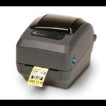 Zebra GK420t labelprinter Direct thermisch/Thermische overdracht 203 x 203 DPI Bedraad