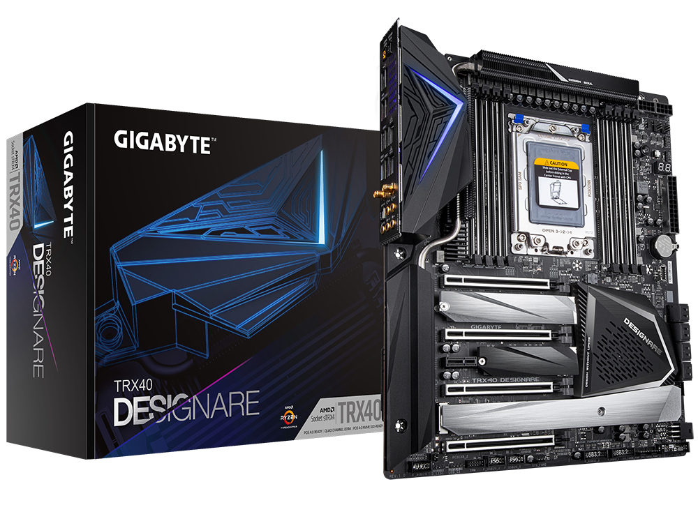 Gigabyte TRX40 Designare motherboard sTRX4 XL-ATX AMD TRX40