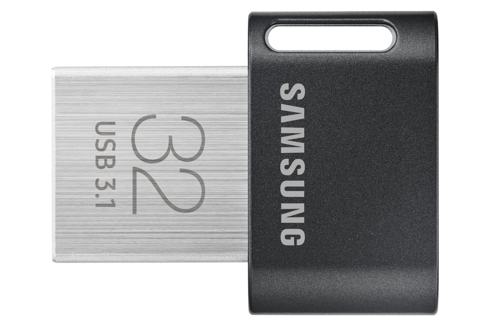 Samsung MUF-32AB unidad flash USB 32 GB USB tipo A 3.2 Gen 1 (3.1 Gen 1) Gris, Plata
