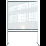 Nobo 1915551 magnetic board Grey, Transparent