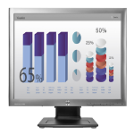 "HP E190i computer monitor 48 cm (18.9"") LED Matt Silver"