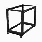 StarTech.com 15U open frame rack - 4 stijlen - verstelbare diepte