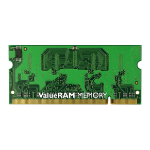Kingston Technology ValueRAM 1GB 800MHz DDR2 Non-ECC CL6 SODIMM 1GB DDR2 800MHz memory module