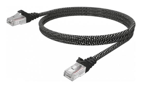Vision TC-10MCAT6-HQ cable de red 10 m Cat6 U/UTP (UTP) Negro / Blanco
