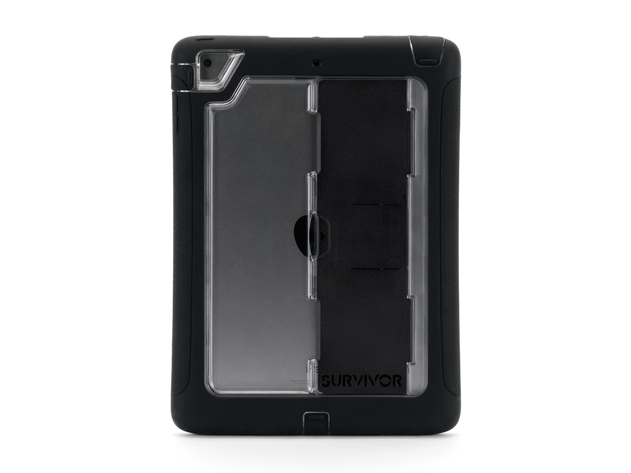 Griffin Survivor Slim Cover Black,Transparent