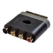 Belkin AD24105qn SCART RCA/S-video Black