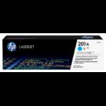 HP 201A Origineel Cyaan 1 stuk(s)