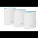 Netgear Orbi AC2200 Tri-band WiFi System draadloze router Tri-band (2.4 GHz / 5 GHz / 5 GHz) Gigabit Ethernet Wit