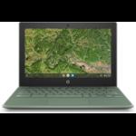 """HP Chromebook 11A G8 EE DDR4-SDRAM 29,5 cm (11.6"""") 1366 x 768 Pixels AMD A4 4 GB 32 GB eMMC Wi-Fi 5 (802.11ac) Chrome OS Groen"""