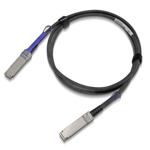 Mellanox Technologies MCP1600-C005E26L cable de fibra optica 5 m LSZH QSFP28 Negro