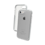 "ZAGG Piccadilly mobile phone case 11.9 cm (4.7"") Cover Silver,Transparent"