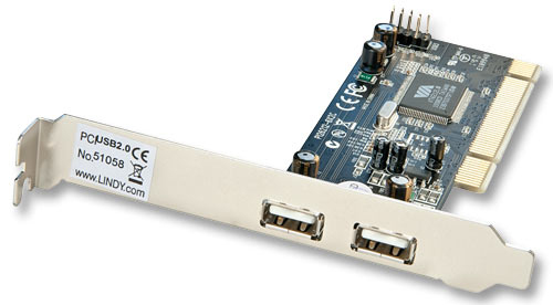Lindy 51058 interface cards/adapter USB 2.0