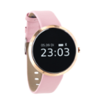"xlyne SIONA XW FIT smartwatch Pink gold OLED 2.41 cm (0.95"")"