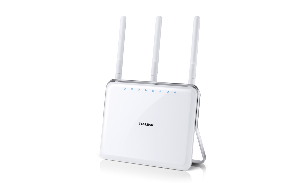 TP-LINK Archer D9 wireless router Dual-band (2.4 GHz / 5 GHz) Gigabit Ethernet White