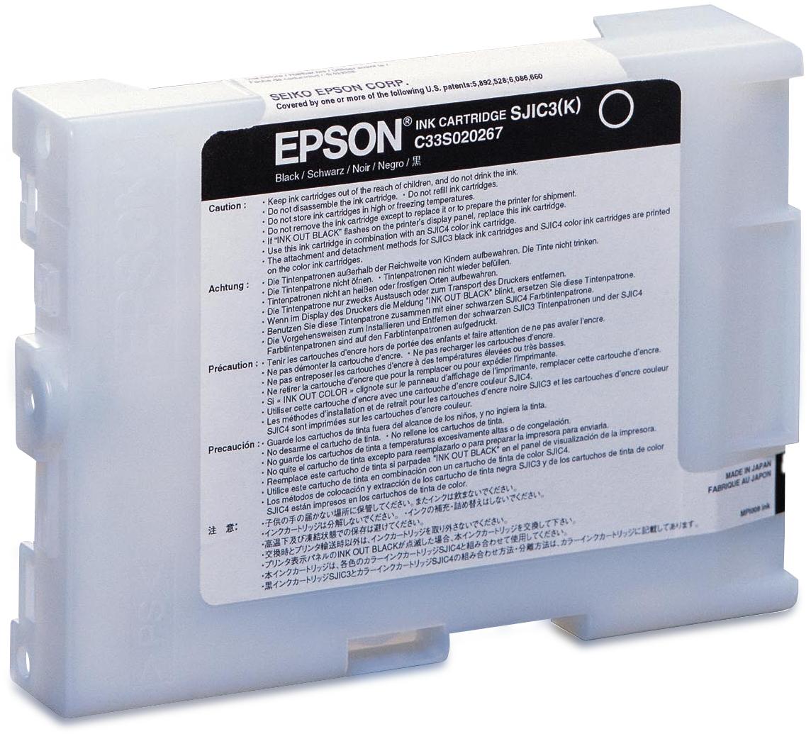 Epson Ink cartridge for TM-J2100 (Black) / SJIC3(K)