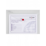 Snopake Doku.tasche 10057 DL VE5 file storage box Polypropylene (PP) Transparent