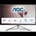 "AOC U32U1 pantalla para PC 80 cm (31.5"") 3840 x 2160 Pixeles 4K Ultra HD LED Negro, Plata"