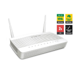 Draytek Vigor2762vac Vdsl2/ Adsl2+ Vpn Firewall Router 4xgigabit Lan Wan Port 2xusb For 3g/ 4g 2xssl
