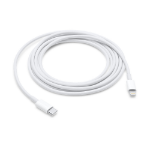 Apple MKQ42AM/A 2m USB C Lightning White USB cable