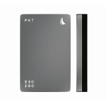 Angelbird Technologies SSD2go PKT USB3.1 256GB 256GB USB Type-C 3.1 (3.1 Gen 2) Graphite,Grey