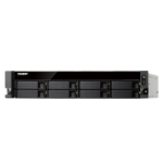 QNAP TS-863XU-RP-4G/64TB-TE NAS/storage server Ethernet LAN Rack (2U) Black