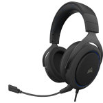 Corsair HS50 PRO STEREO Headset Head-band Black,Blue