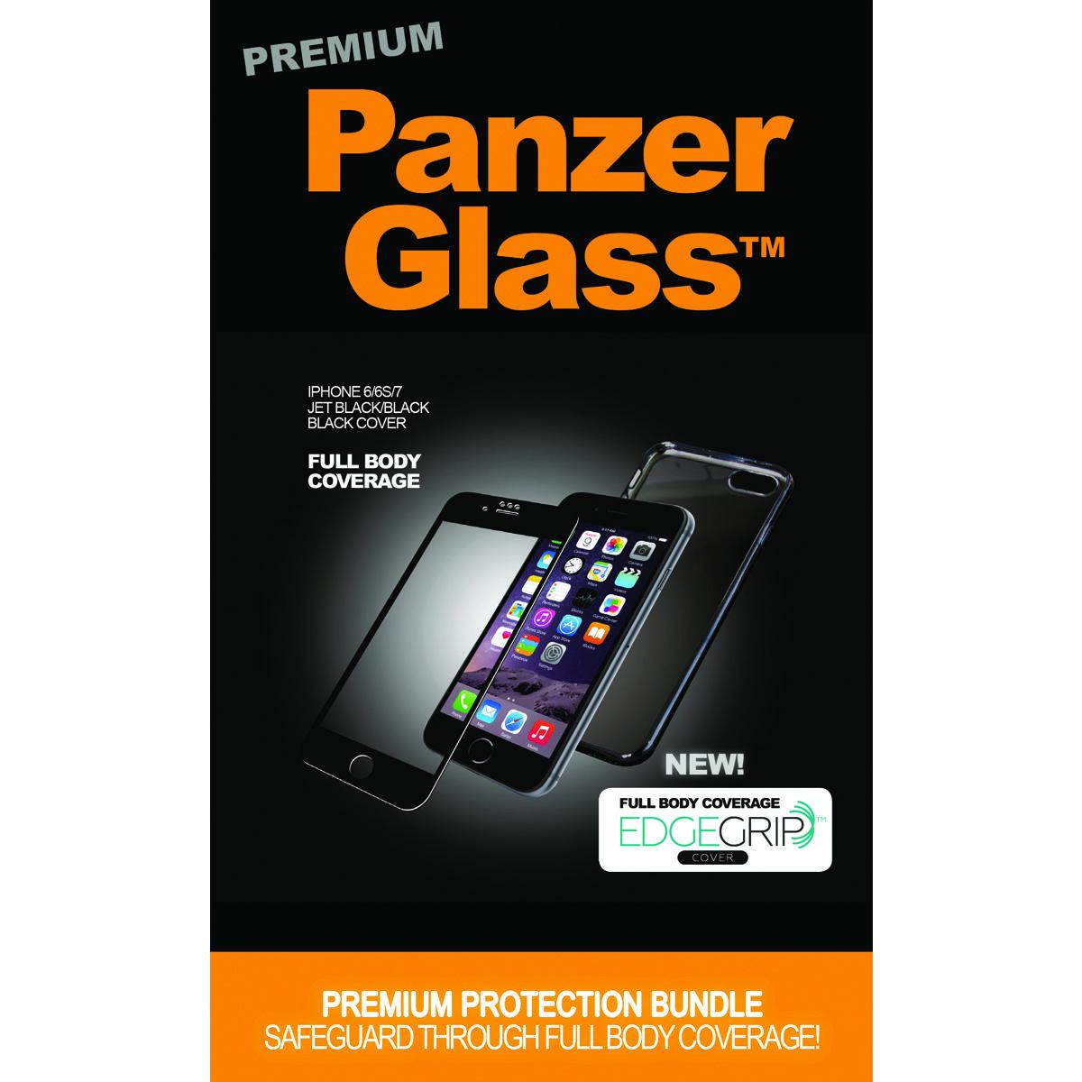 PanzerGlass B2614 mobile phone case Cover Black,Transparent