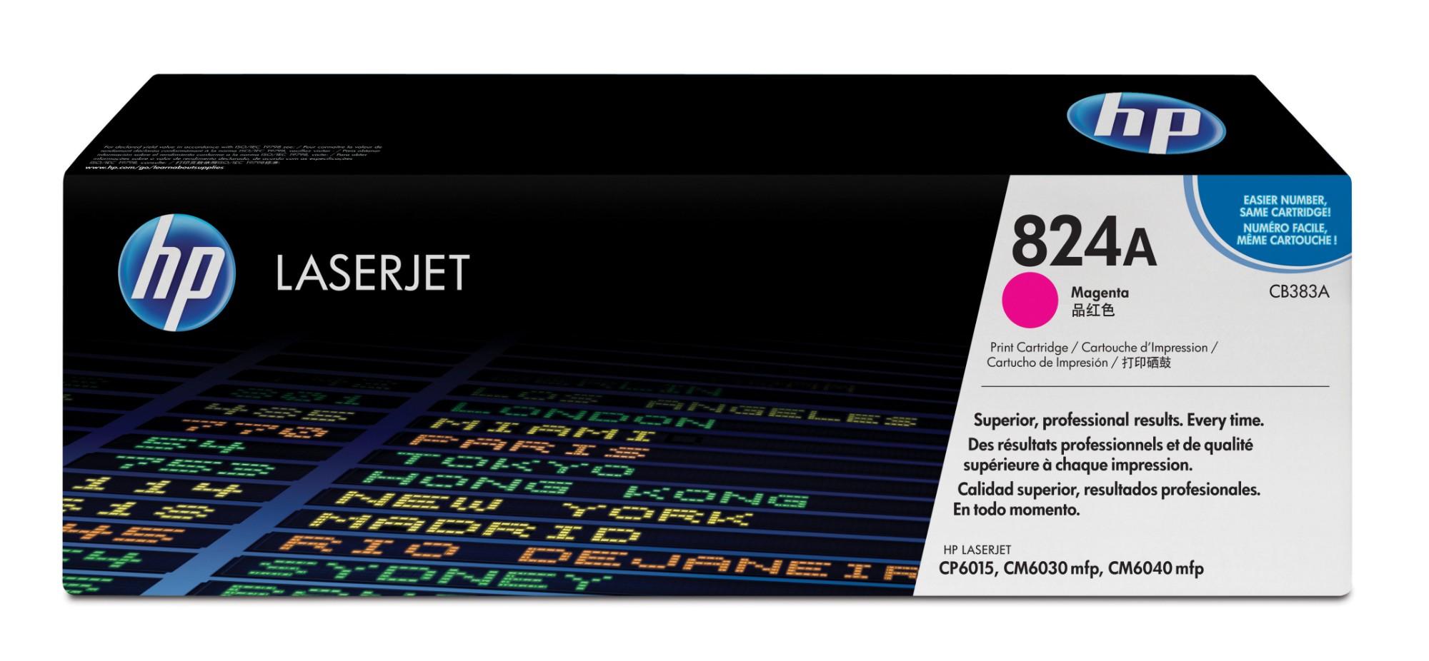 HP 824A Origineel Magenta 1 stuk(s)