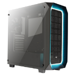 Aerocool P7-C0 Midi-Tower Black,Translucent computer case