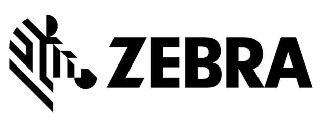 Zebra 3400 Wax Ribbon Black 156mm X 450m