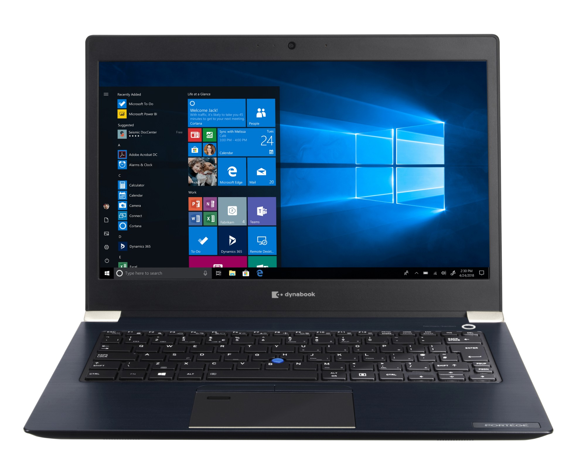 "Dynabook Portégé X30-F-14V Portátil Azul 33,8 cm (13.3"") 1920 x 1080 Pixeles 8ª generación de procesadores Intel® Core™ i5 8 GB DDR4-SDRAM 512 GB SSD Wi-Fi 5 (802.11ac) Windows 10 Pro"