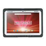 Panasonic Toughpad FZ-A2 32GB 4G Black,Silver tablet