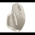 Logitech MX Master RF Wireless+Bluetooth Laser 1000DPI Right-hand Grey mice