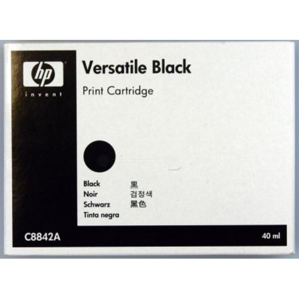 HP C8842A Printhead black, 220 pages, 40ml