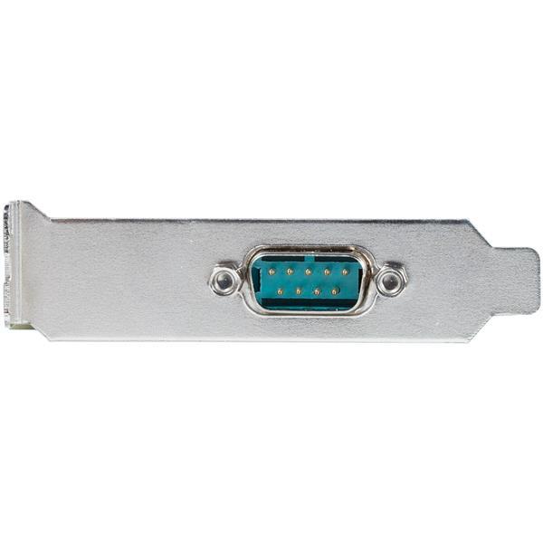 StarTech.com Tarjeta Adaptadora PCI Express PCIe Perfil Bajo de 2 Puertos Serie RS232 UART 16950 Serial