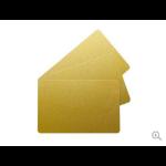 Evolis C4601 Gold Metallic PVC Cards - Pack of 100