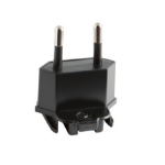 Honeywell Adaptor Plug EU Type F Black power plug adapter