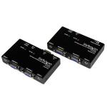 StarTech.com Extensor de Vídeo VGA y Audio mini-jack por cable cat5 UTP Ethernet - Adaptador