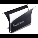Rexel Crystalfile Extra Secura Foolscap Suspension File 30mm Black