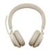 Jabra Evolve2 65, UC Stereo Auriculares Diadema USB Tipo C Bluetooth Beige