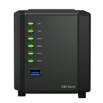Synology DiskStation DS419slim Ethernet LAN Tower Black NAS