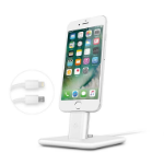 TwelveSouth HiRise Deluxe 2 For iPad mini 4 iPad Pro 9.7'' iPhone 5 5s 6 6s 7 7 Plus mobile device dock station Tablet/Smartphone White